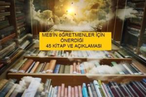 Meb'in Öğretmenlere Önerdiği Kitaplar