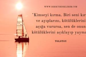 Tolstoy'un Etkileyici Sözleri