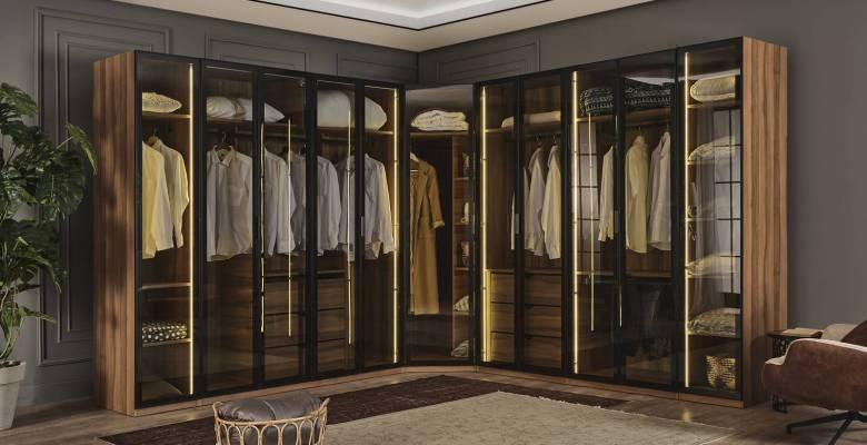 Evinize Konforu Taşımanın Diğer Adı: Giyinme Odası