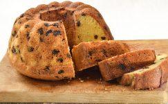 Şekersiz Üzümlü Kek