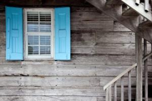 Tek odalı evin yaşam tarafı