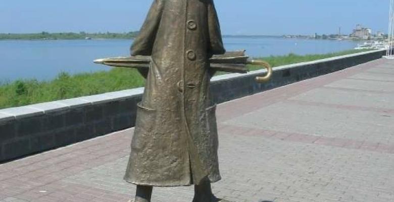 Anton Çexovun Heykəli