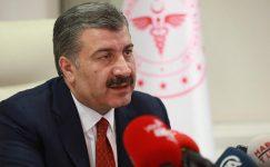 Sağlık Bakanı Dr Fahrettin Koca 'dan Son Dakika