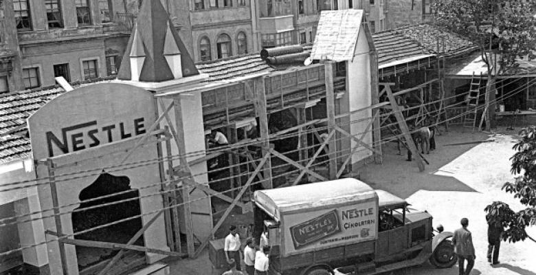 Türkiye'de İlk Çikolata Fabrikası