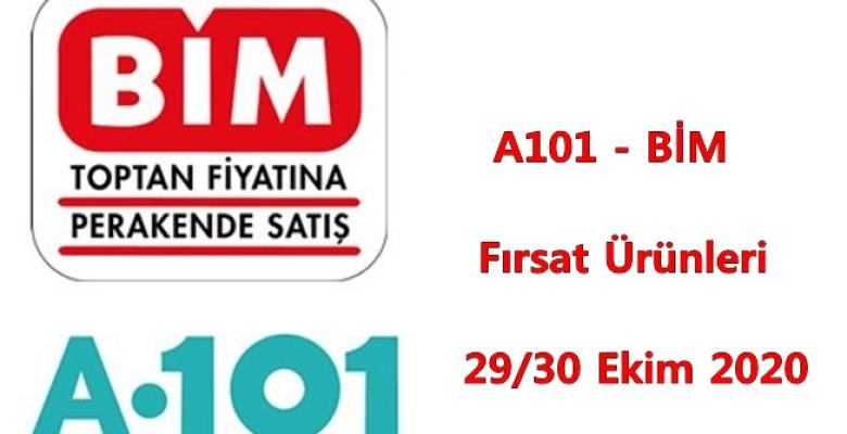 A101, BİM Fırsat Ürünleri ( 29 – 30 Ekim 2020 )