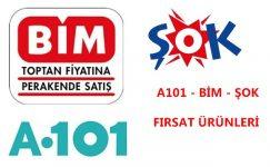 A101, ŞOK ve BİM Fırsat Ürünleri ( 25 – 27 Kasım 2020 )