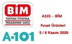 A101, BİM Fırsat Ürünleri ( 5 – 6 Kasım 2020 )