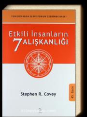 Covey, S. R. Etkili İnsanların Alışkanlığı ,Varlık Yayınları