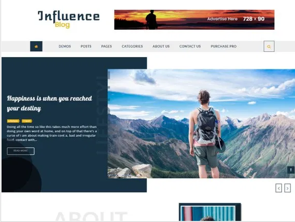 influence-blog-themes