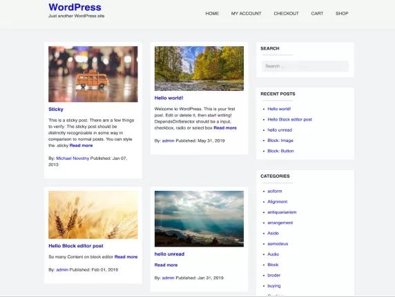 wordpress-blog-temasi