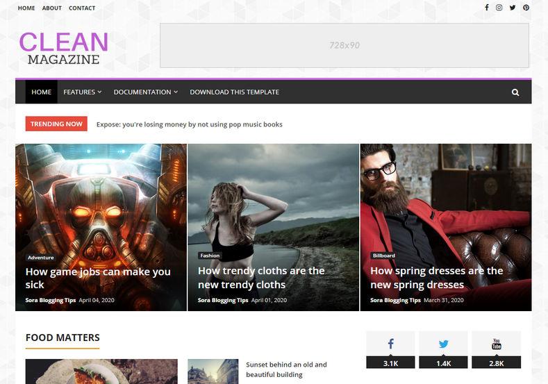 clean-magazine-blogger-theme