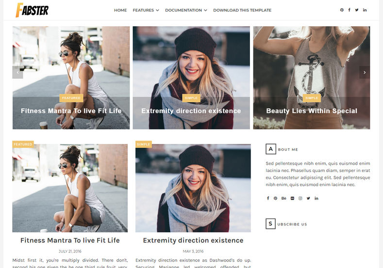 fabster-blogger-theme