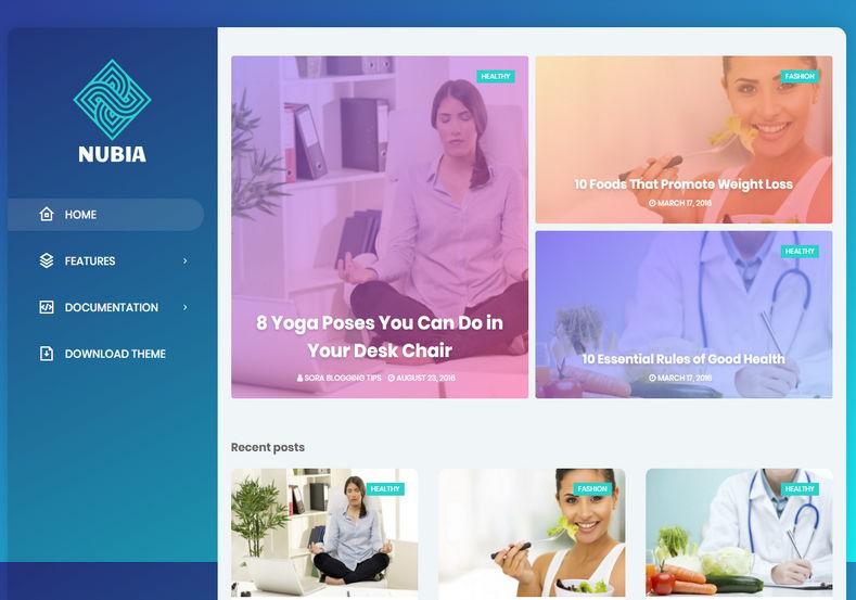 nubia-blogger-theme