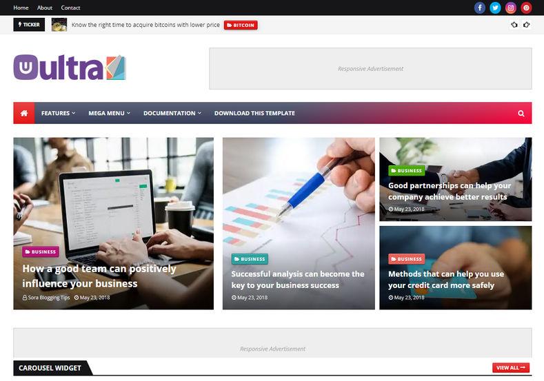 ultramag-blogger-theme
