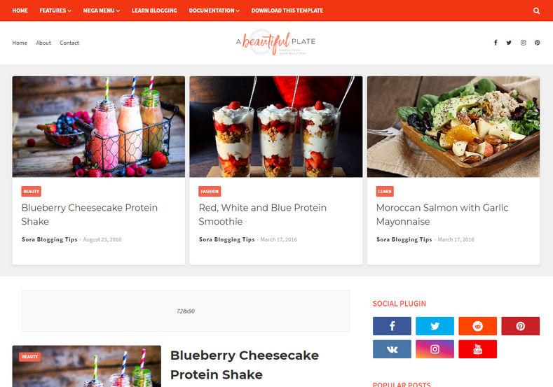 ucretsiz-blogger-yemek-temasi